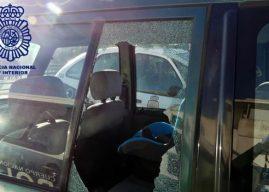 Pillado tras robar en al menos diez coches aparcados en la capital
