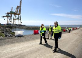 El Puerto de Huelva sube al 5º lugar del sistema portuario español