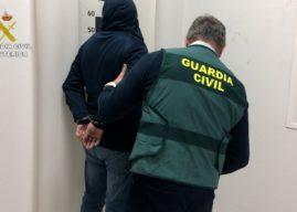 Detenido en Huelva capital un peligroso asesino huido de prisión