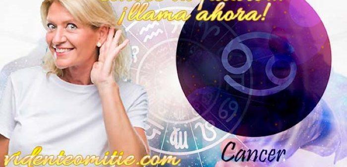 Tarot telefónico por móvil VISA – CÁNCER HOY Horóscopo diario del día 9 Domingo de mayo 2021