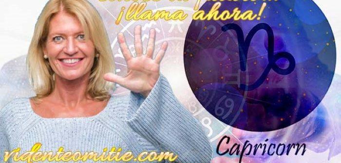 Videncia 806 BARATA – CAPRICORNIO HOY Horóscopo diario del día 6 jueves de mayo 2021
