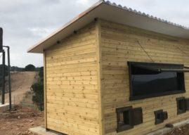 El observatorio espía del buitre negro en la provincia de Huelva