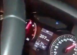 Pillado a 207 km/h por la A-49